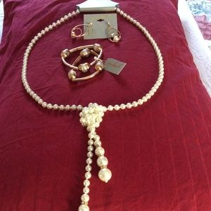 Jewelry Pearl Set